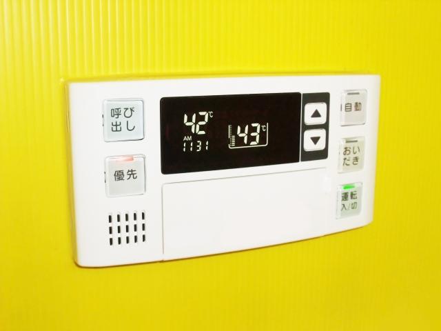 アパートのガス給湯器の電源はつけっぱなし?切るべき?