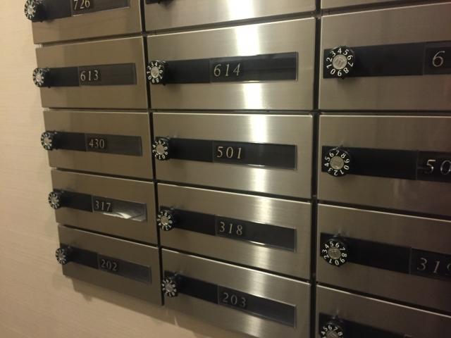アパートの郵便受けの種類!ダイヤル式の開け方って?