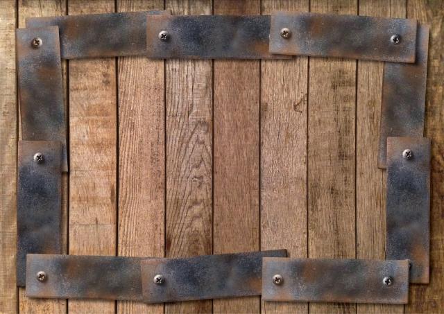内装をインダストリアル風に!レザーや木材でDIY!