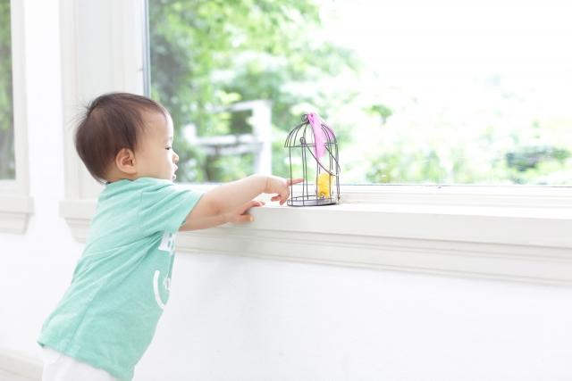 窓にストッパーをつけるだけ!転落防止と防犯で好印象!