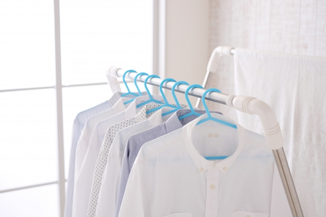 窓の内側などに洗濯物干しスペースを!外不可な人必見!
