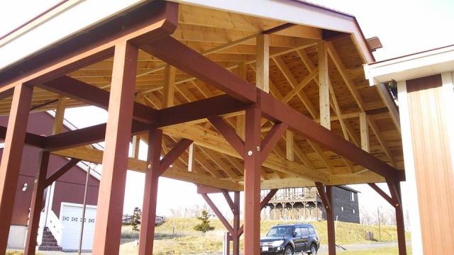 木造のカーポートをDIYで作成して不動産の価値を高めよう!
