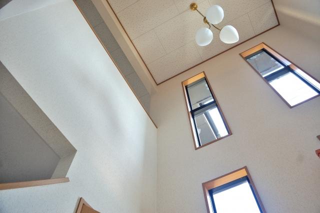 建築基準法での床面積の計算に吹き抜け部分はどうなるのか?