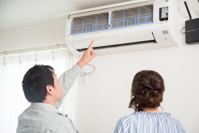 アパートのエアコンは誰のもの?故障したら誰が修理する?