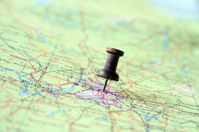 住所とは違う複雑な土地の地番を地図から検索し特定する方法